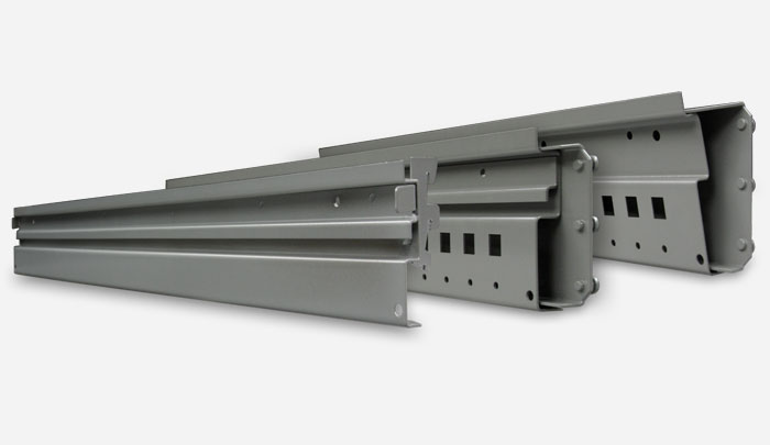 EZRail System for Modular Bin Storage