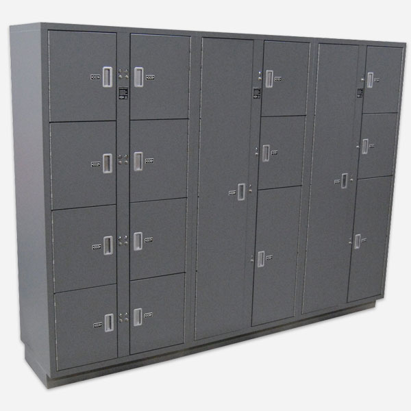 Pass-Thru Secure Evidence Lockers