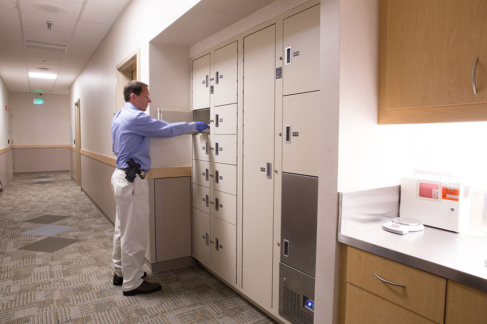 Secure Evidence Lockers System