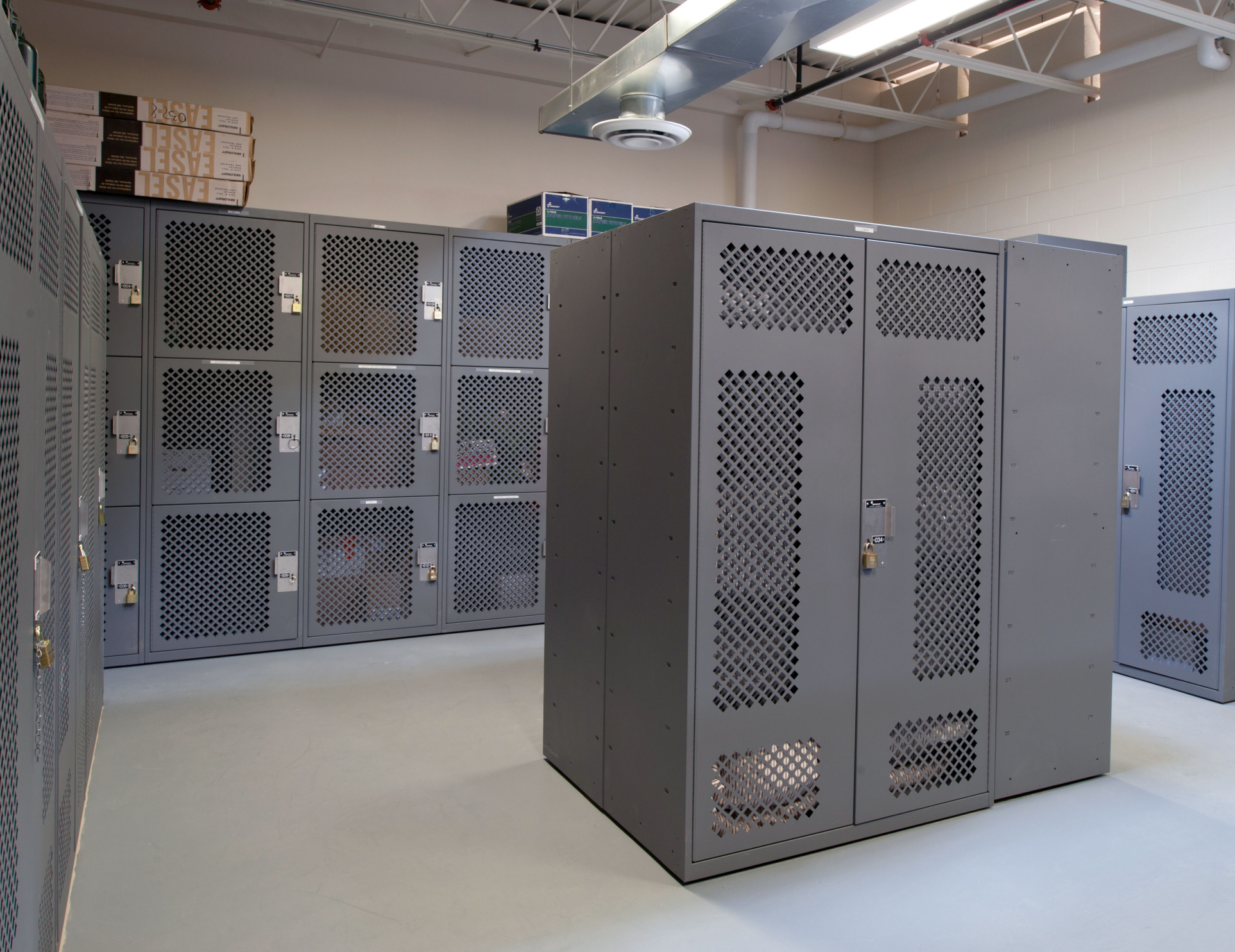 Secure Lockers for Military Gear Storage