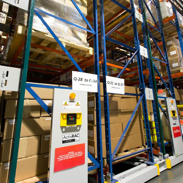 Warehouse Mobile Pallet Racking Storage Systems