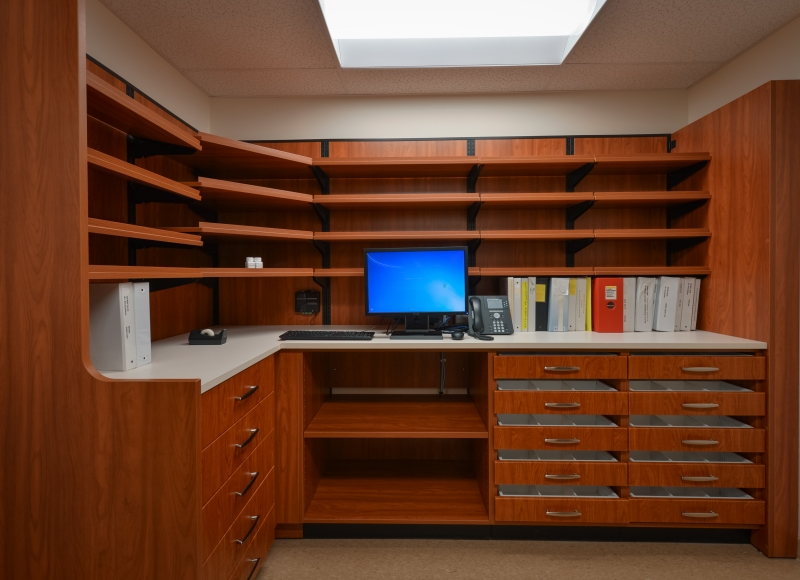 Modular Storage with Shelf and Drawer Solutions