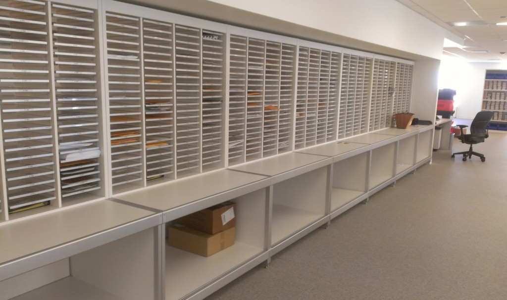 Mailroom Furniture Systems And Space