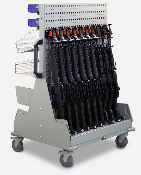 Firearms Storage on WeaponsWRX Cart