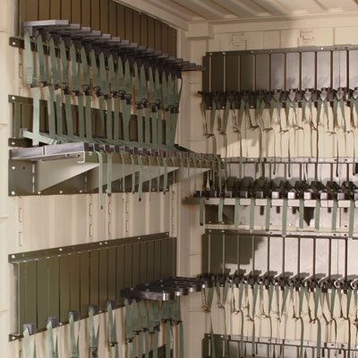 Firearms Storage And Military Weapons Rack Systems And Space