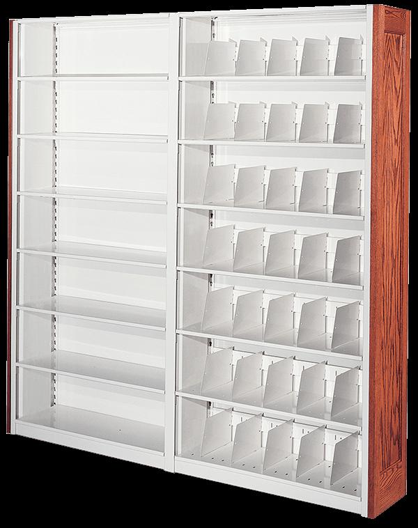 4-post case-type shelving