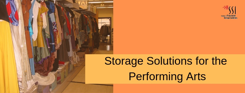 Storage for theater and performing arts
