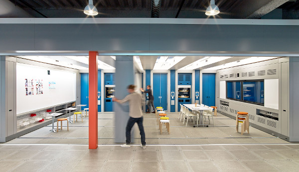 Moveable walls - GE Software Design Center