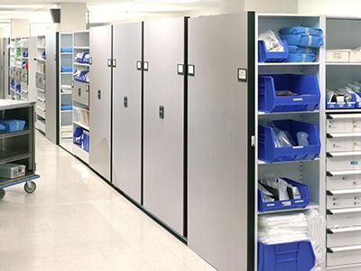 hospital supply room storage